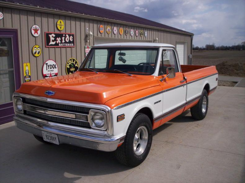 1970 Chevy Longbed Restored Trick Truck N Rod