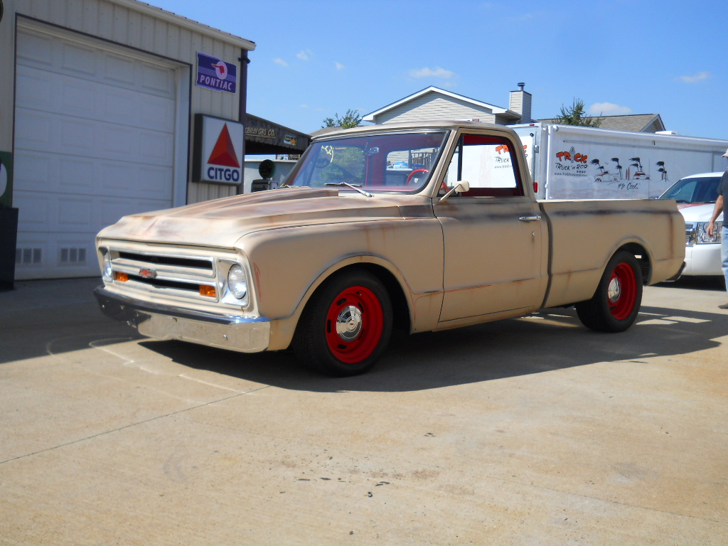 1953 Ford F100 For Sale 1968 Chevy Patina   Trick Truck 'N Rod