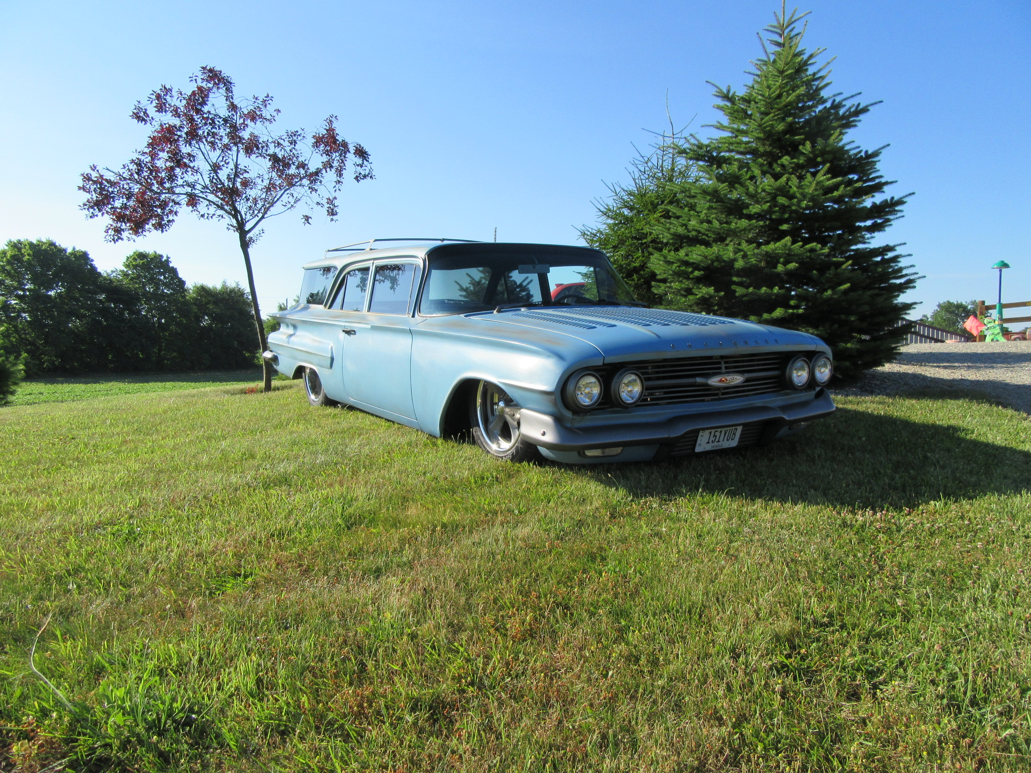 for sale 1960 chevy brookwood wagon trick truck 39 n rod. Black Bedroom Furniture Sets. Home Design Ideas