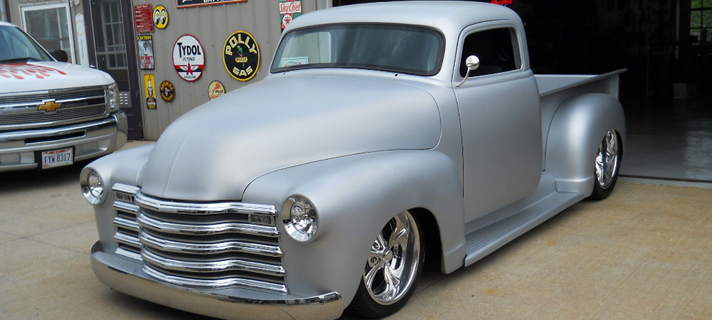 Sterling Silver Chevy