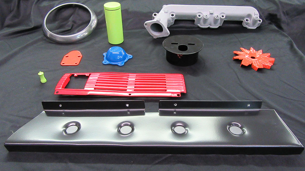 Powder Coated Parts