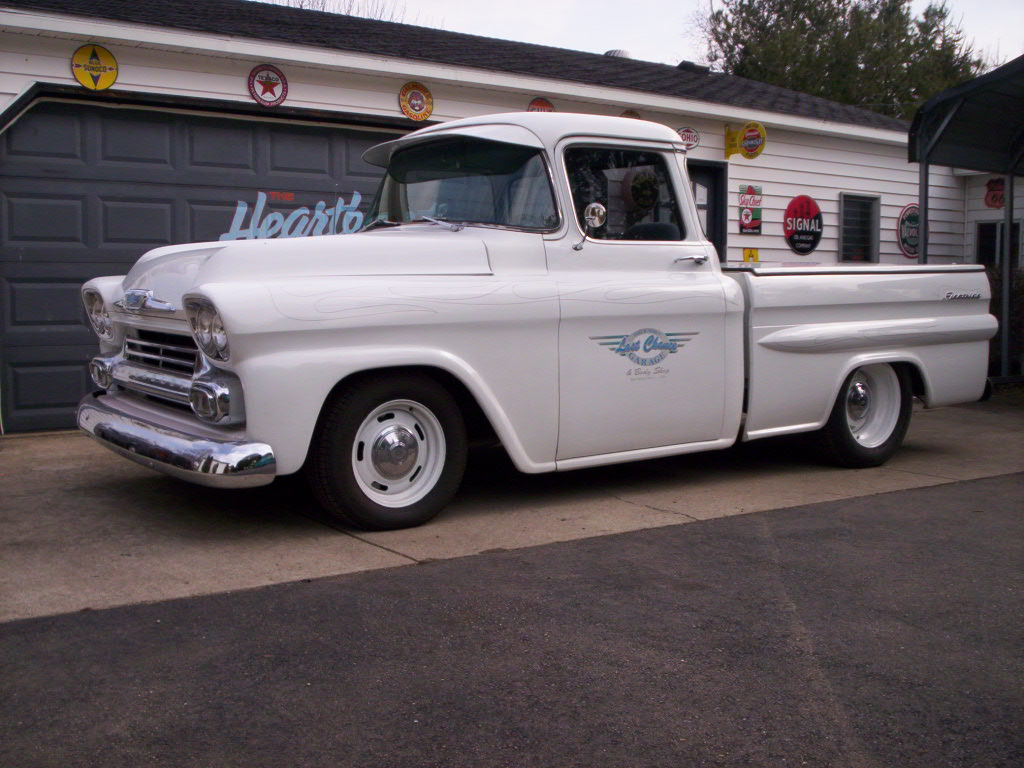 1958 Chevy Shop Truck – Trick Truck 'N Rod