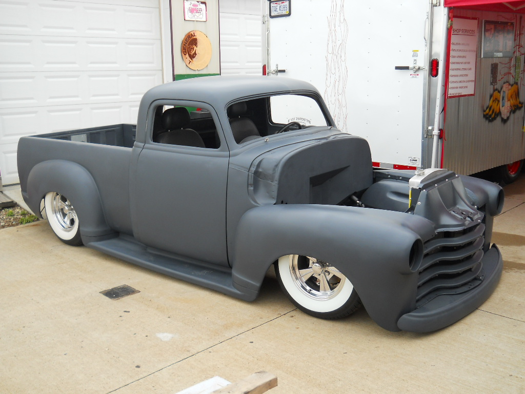 1950 chevy custom pickup trick truck 39 n rod. Black Bedroom Furniture Sets. Home Design Ideas