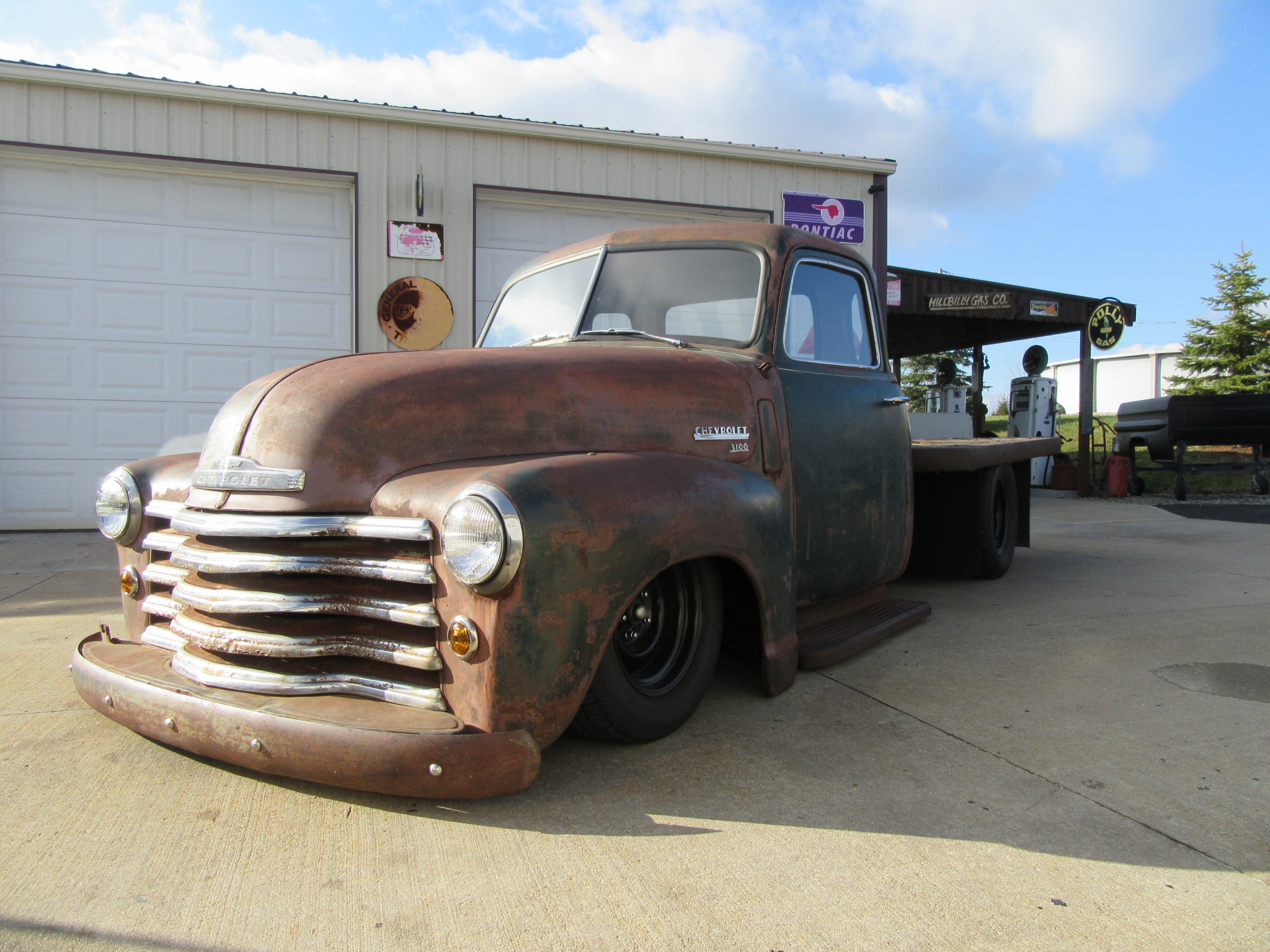 1948 Chevy Flatbed Trick Truck N Rod